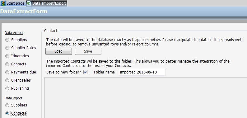 How to Import Contacts
