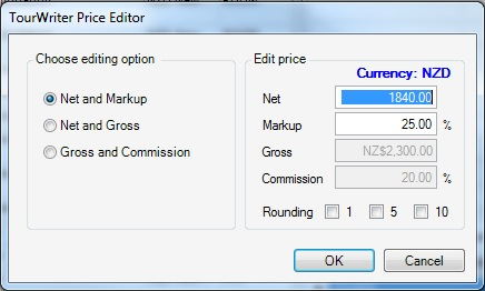 TourWriter Price Editor