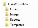 TourWriterData Folder