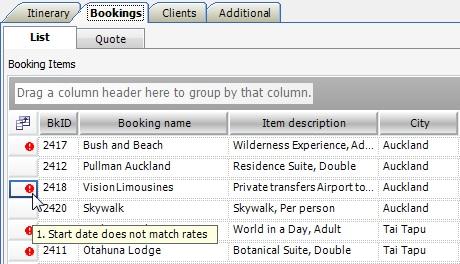 Booking Error 1