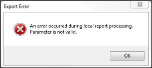 Export Error2